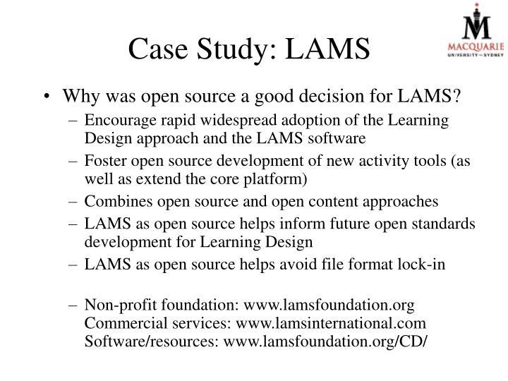 Case Study: LAMS
