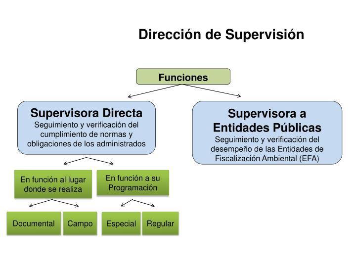 Dirección de Supervisión