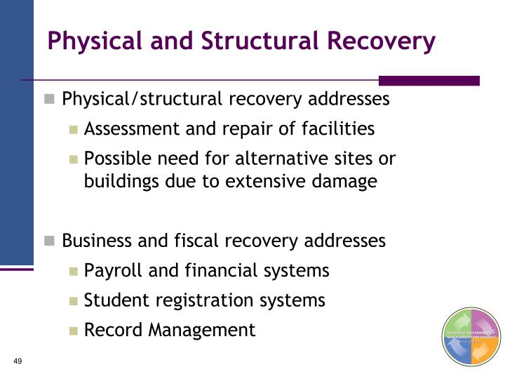 Physical and Structural Recovery
