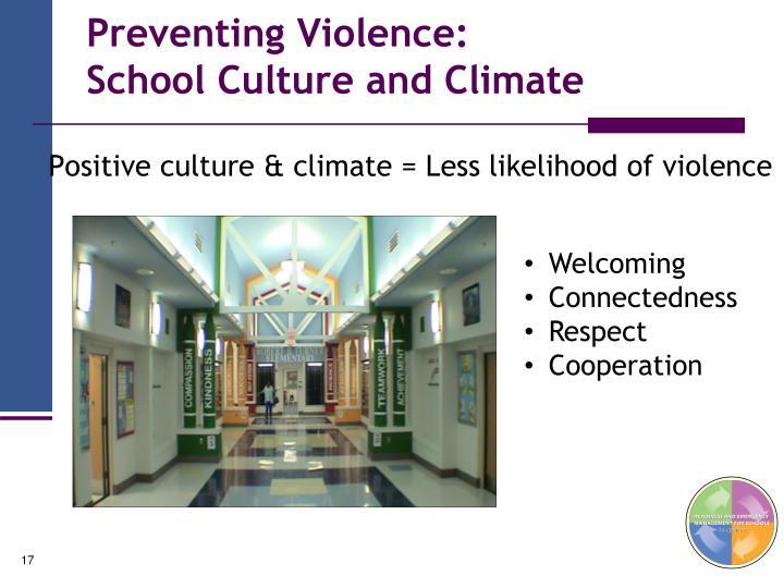 Preventing Violence: