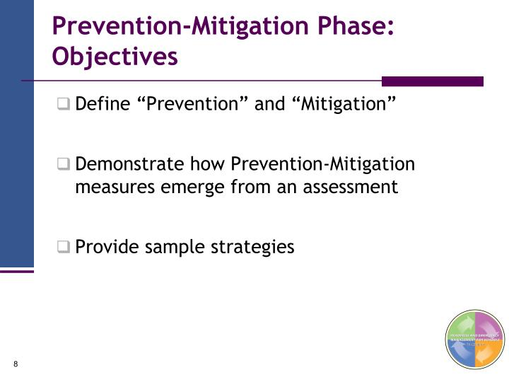 Prevention-Mitigation Phase: