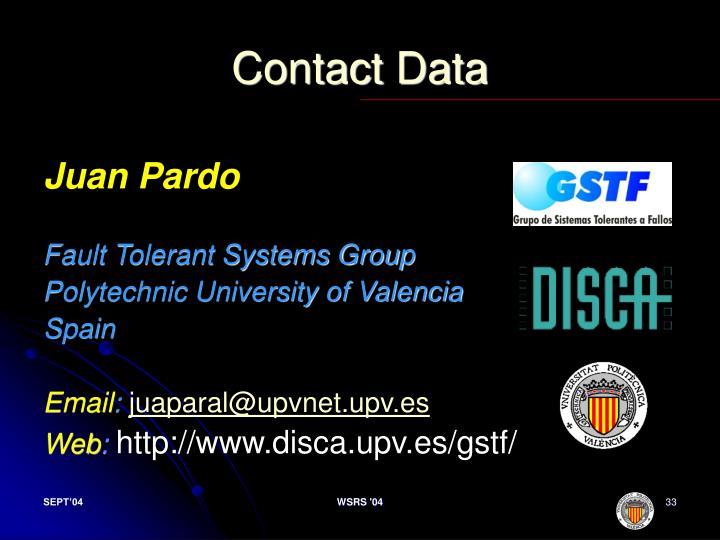 Contact Data