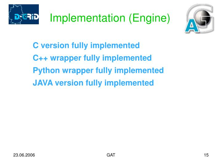 Implementation (Engine)