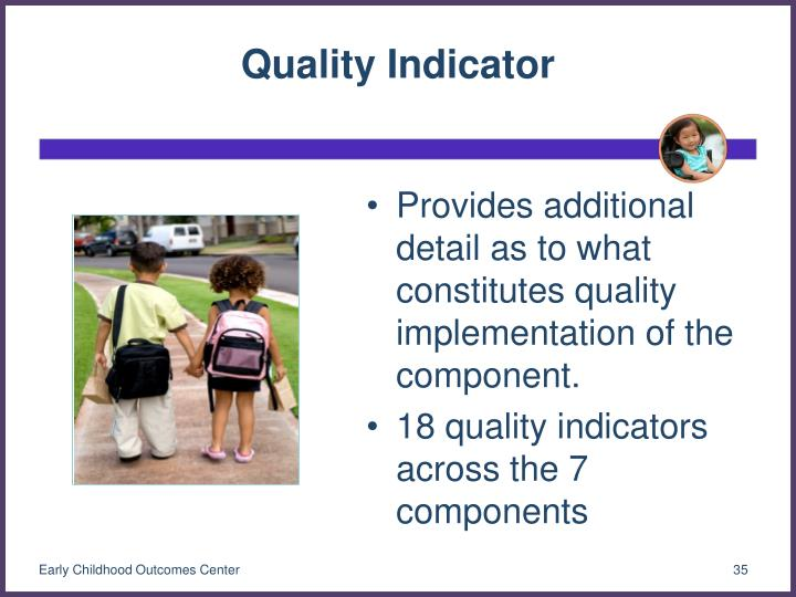 Quality Indicator