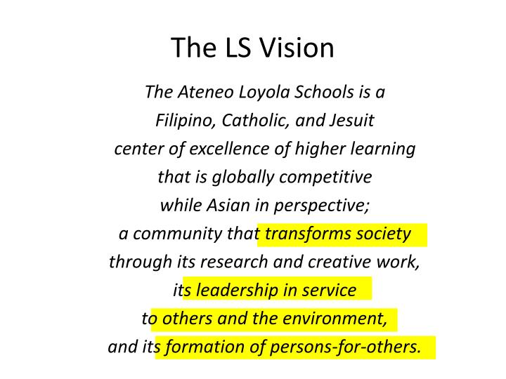 The LS Vision