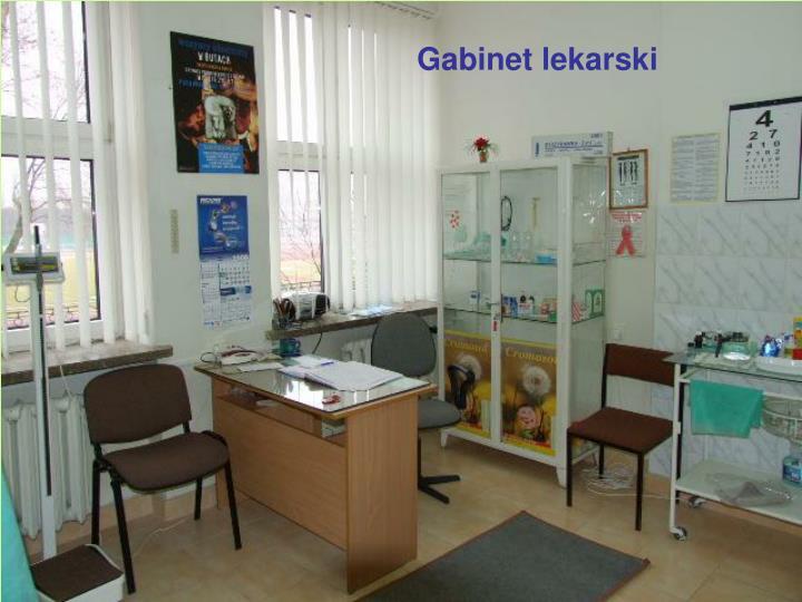 Gabinet lekarski