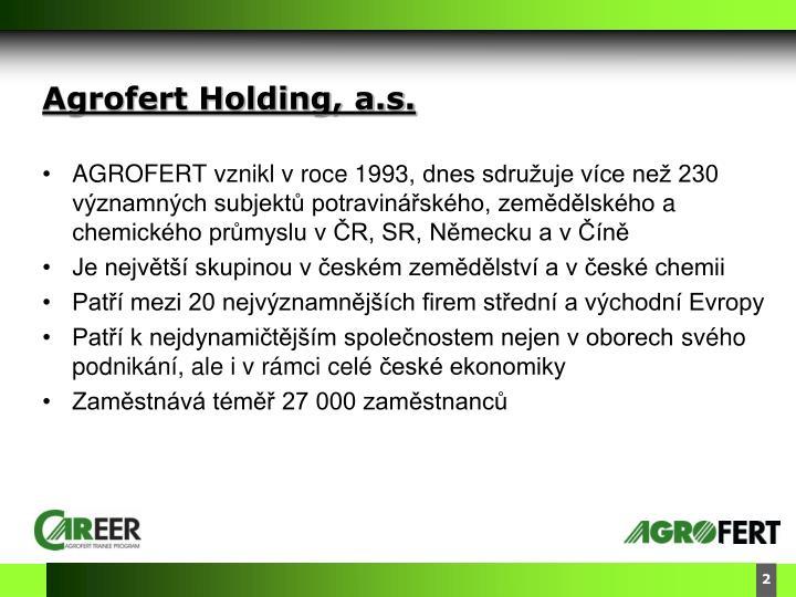 Agrofert Holding, a.s.