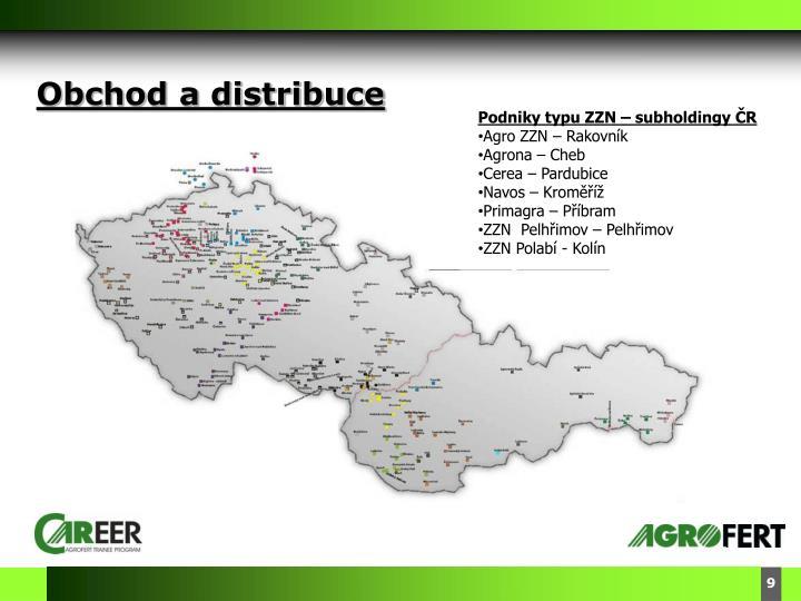 Obchod a distribuce