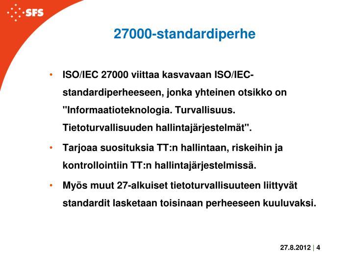 27000-standardiperhe