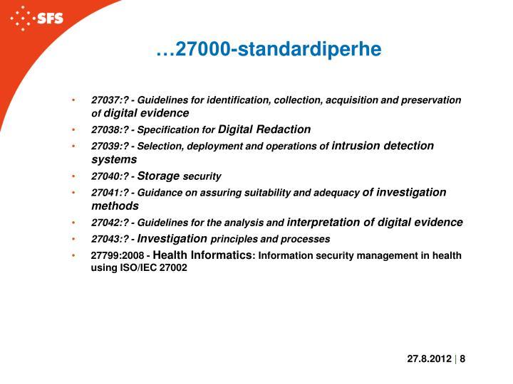 …27000-standardiperhe