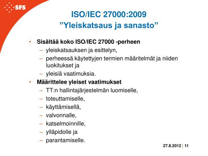 ISO/IEC 27000:2009