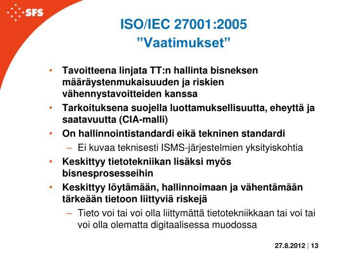 ISO/IEC 27001:2005