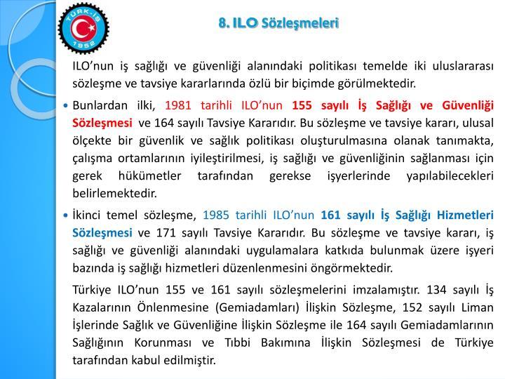 8. ILO