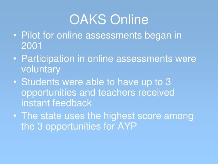 OAKS Online