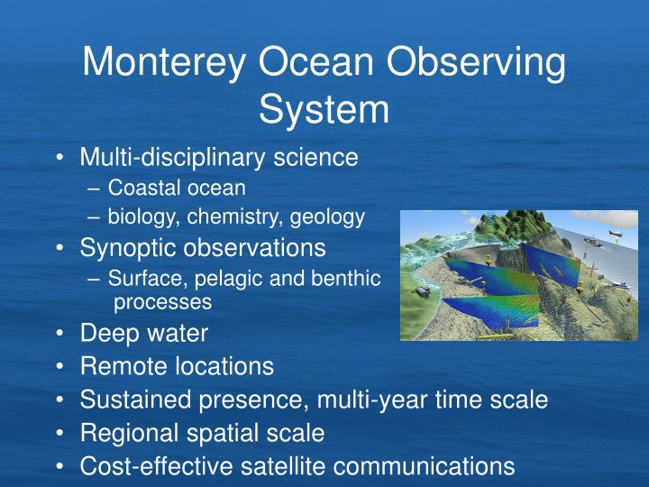 Monterey Ocean Observing System