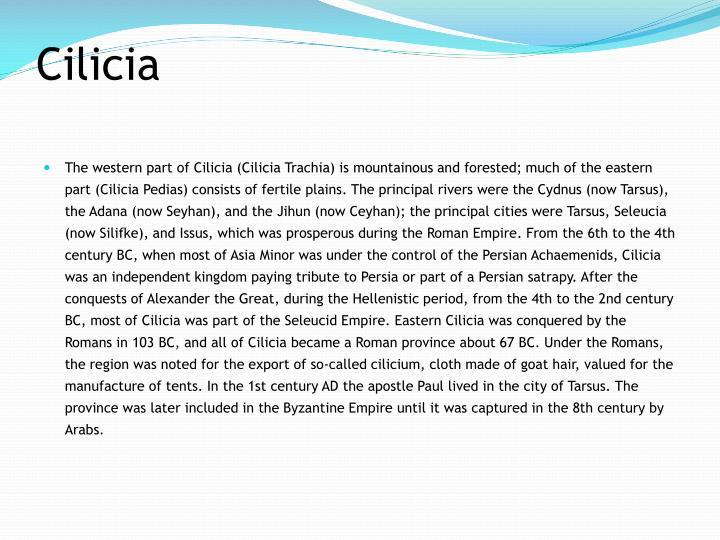 Cilicia