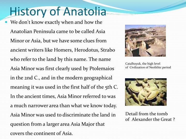 History of Anatolia