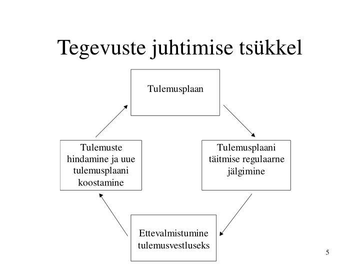 Tegevuste juhtimise tsükkel