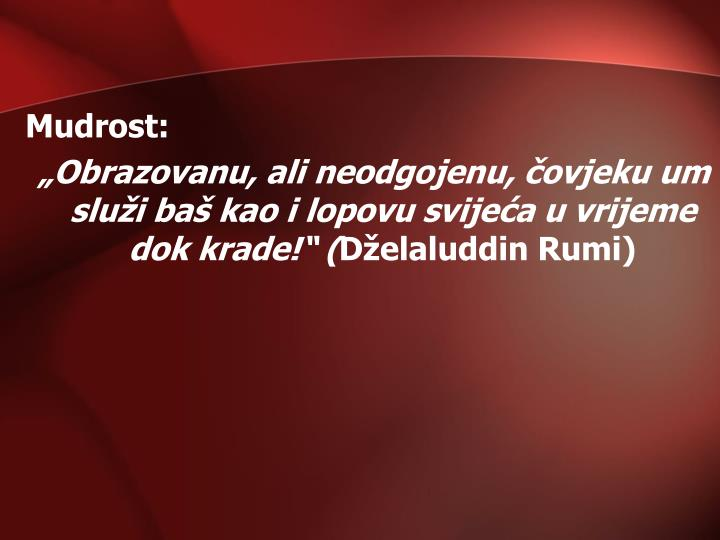 Mudrost: