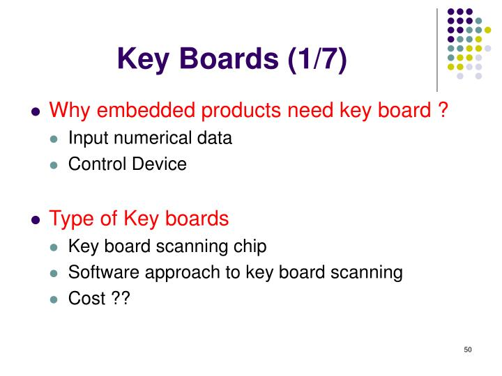 Key Boards (1/7)