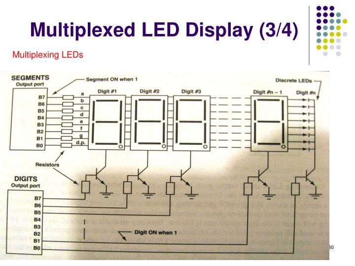 Multiplexed LED Display (3/4)