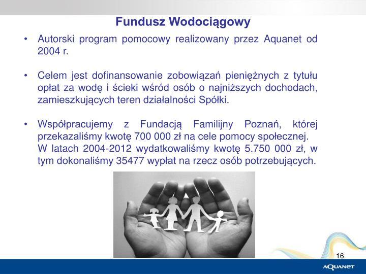 Fundusz Wodociągowy