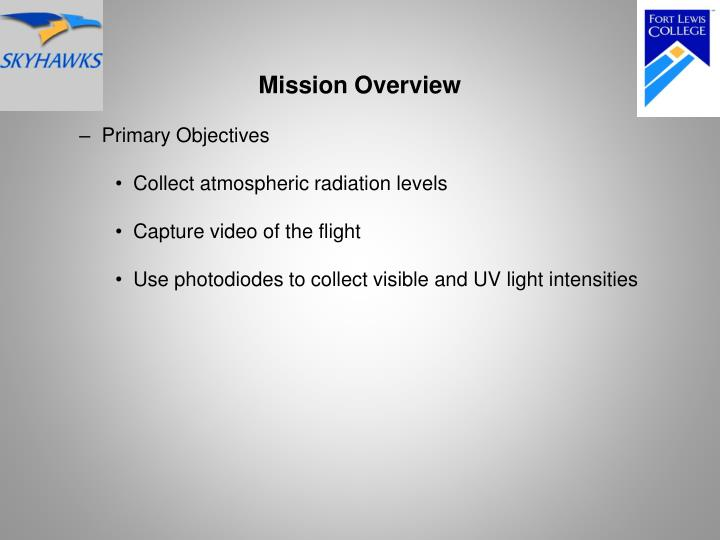 Mission Overview