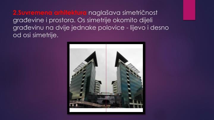 2.Suvremena arhitektura