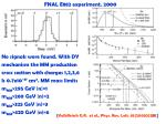fnal e882 experiment 2000
