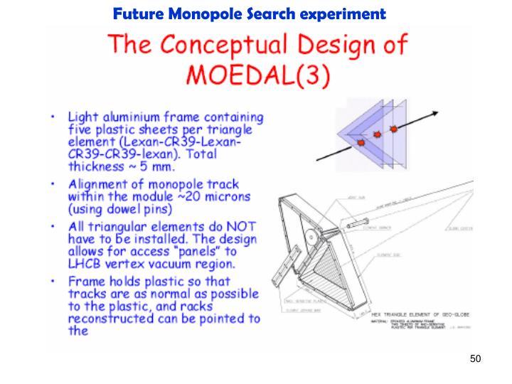 Future Monopole Search experiment