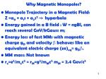 why magnetic monopoles2