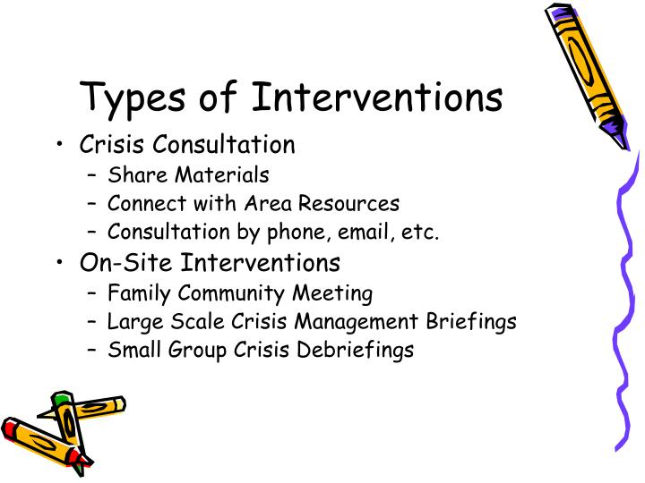 Types of Interventions