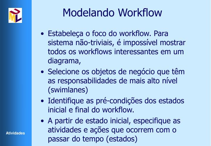 Modelando Workflow