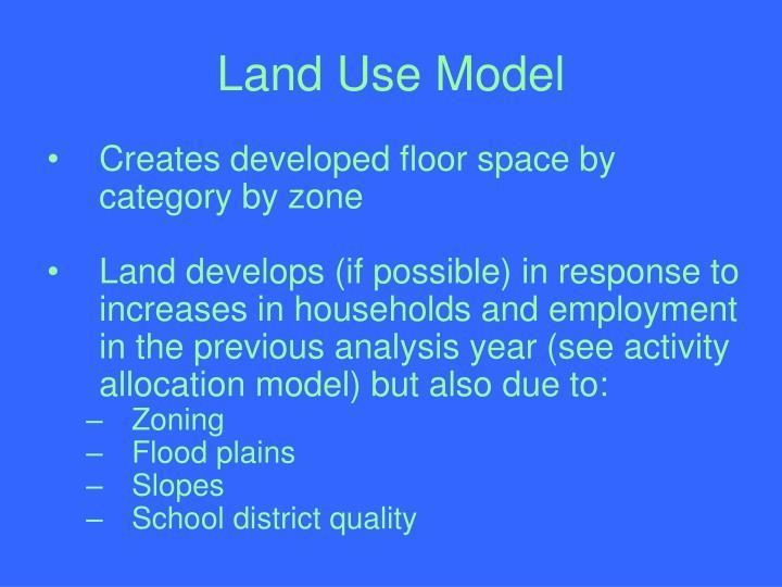 Land Use Model