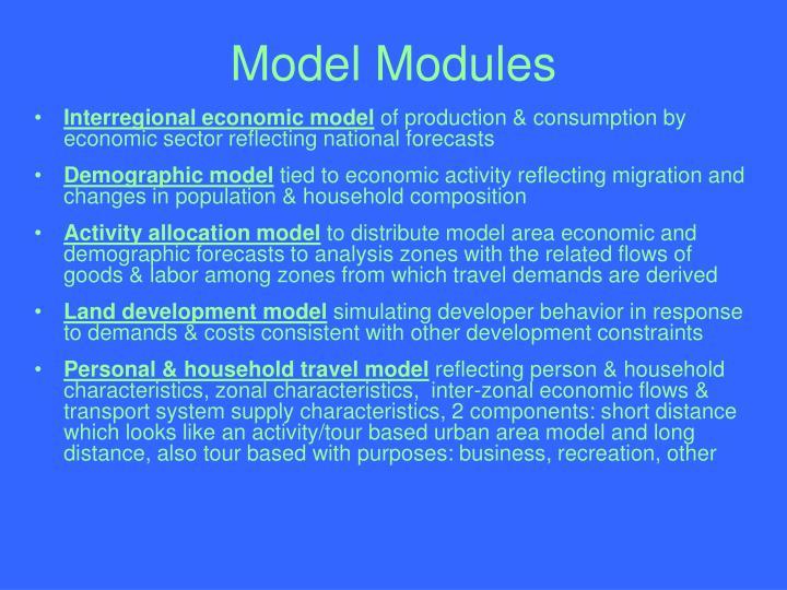 Model Modules