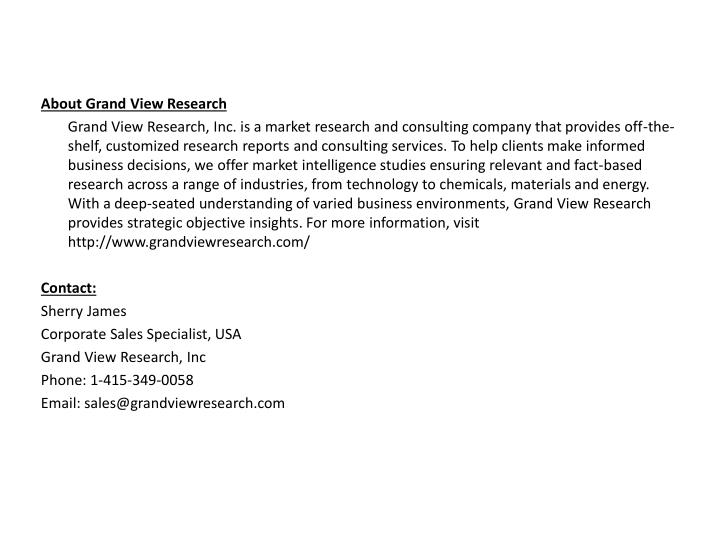 About Grand View Research