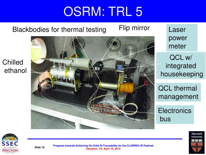 OSRM: TRL 5