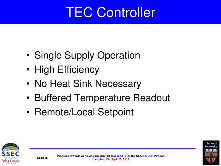 TEC Controller