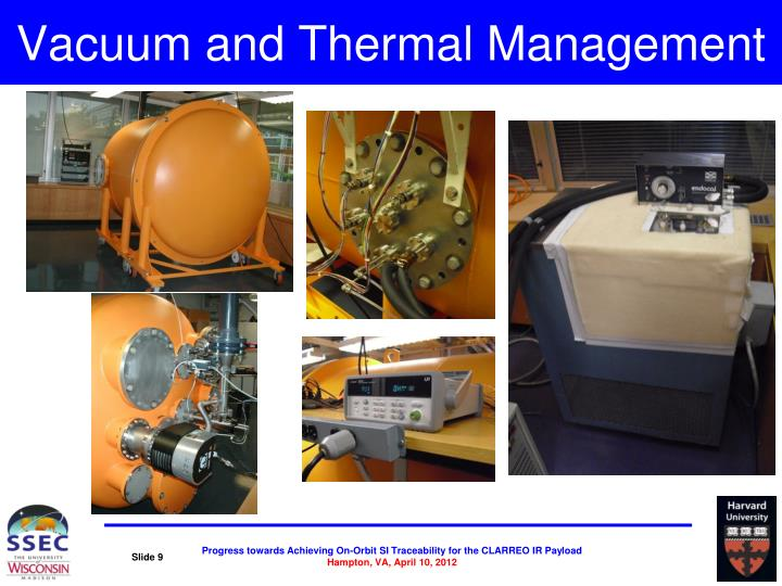 Vacuum and Thermal Management