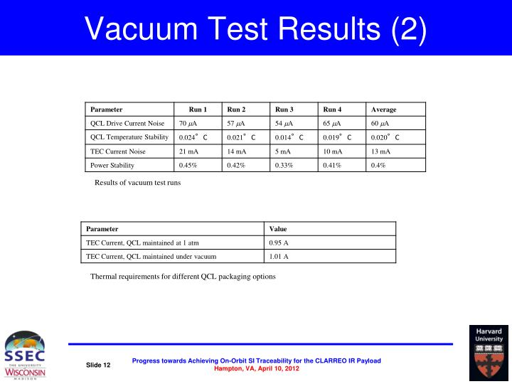 Vacuum Test Results (2)