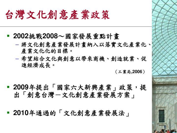 台灣文化創意產業
