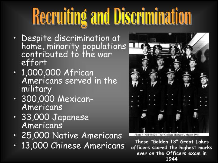 Recruiting and Discrimination