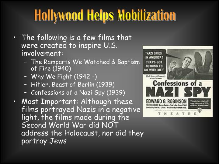 Hollywood Helps Mobilization