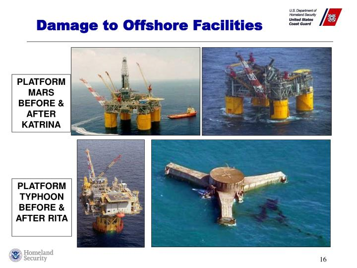 Damage to Offshore Facilities