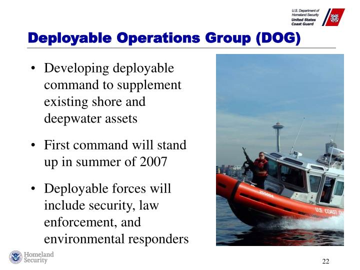 Deployable Operations Group (DOG)