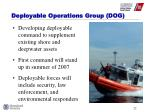 deployable operations group dog