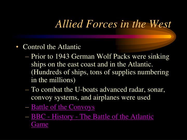 Allied Forces in the West