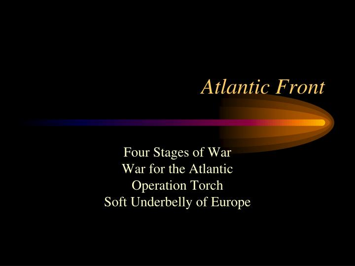Atlantic Front