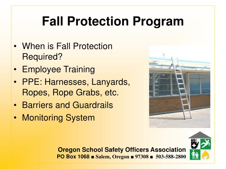 Fall Protection Program