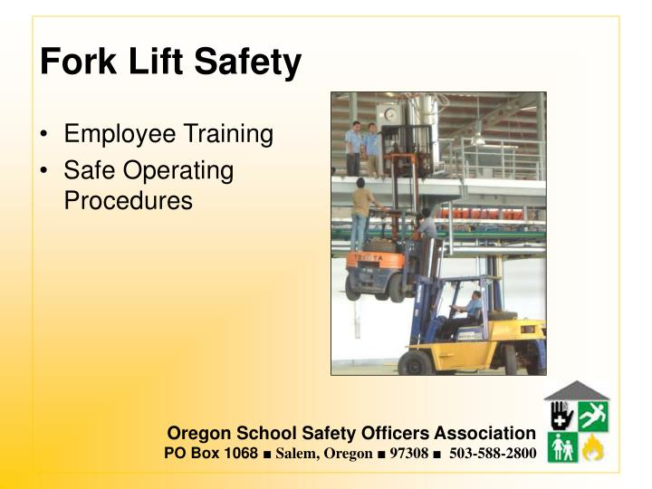 Fork Lift Safety